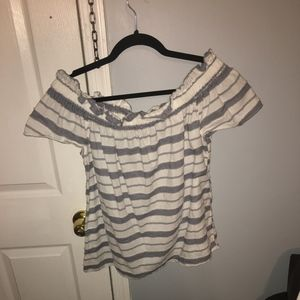 Juicy Couture Off The Shoulder Top